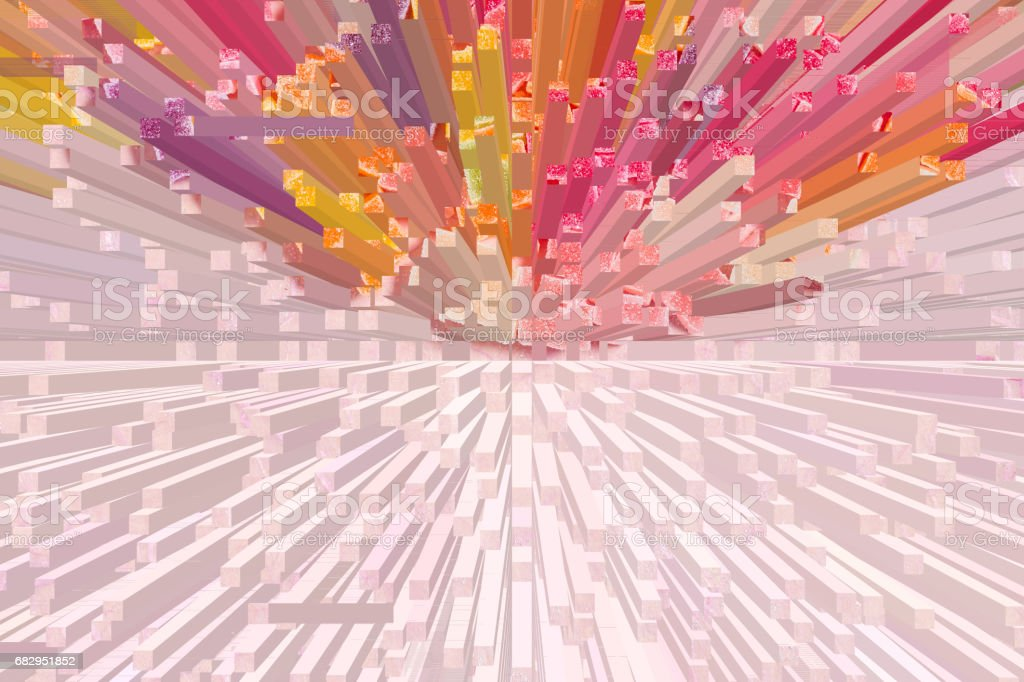 Colorful abstract pattern texture background Illustrations design royalty-free stock photo