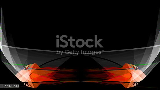 525031832 istock photo Colorful abstract smoke on black background 977922790