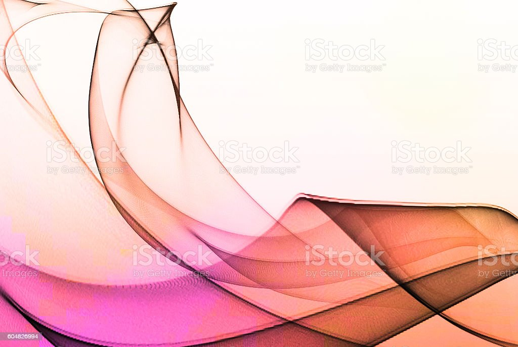 Colorful abstract smoke stock photo