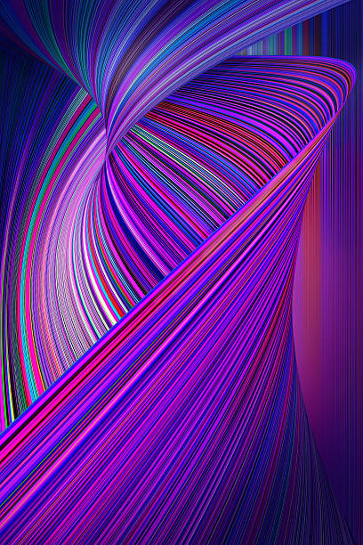 Colorful Abstract Technology Background – Foto