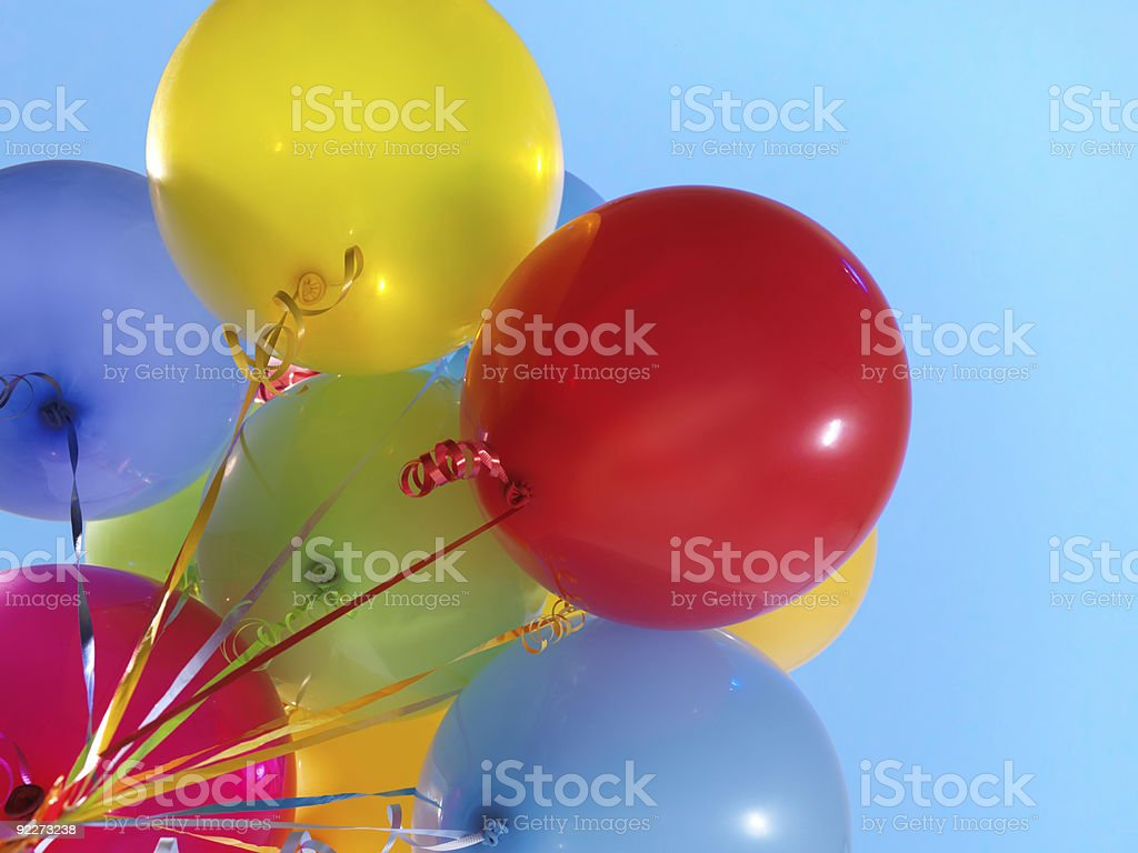 Colorful Air Balloons royalty-free stock photo