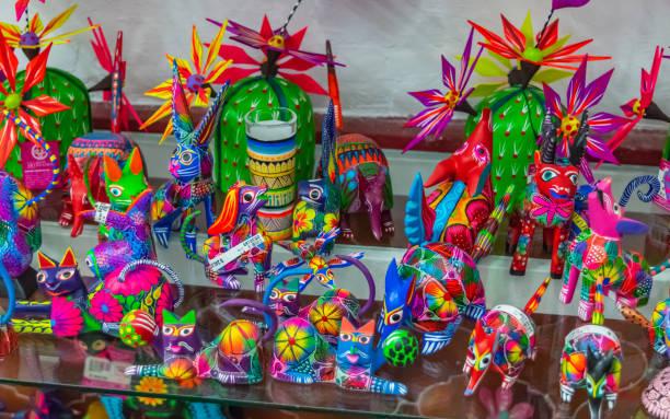 Colorful Alebrijes stock photo