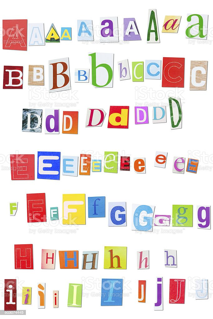 Colorful alphabet cut out from magazines stock photo more pictures colorful alphabet cut out from magazines royalty free stock photo spiritdancerdesigns Choice Image