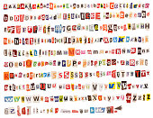 istock Colorful Alphabet – from Newspapers and Magazines 482690615