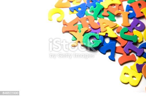 istock Colorful Alphabet 846522000