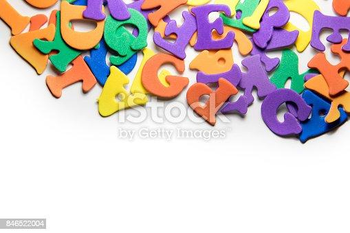 istock Colorful Alphabet 846522004