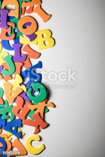 istock Colorful Alphabet 846522016
