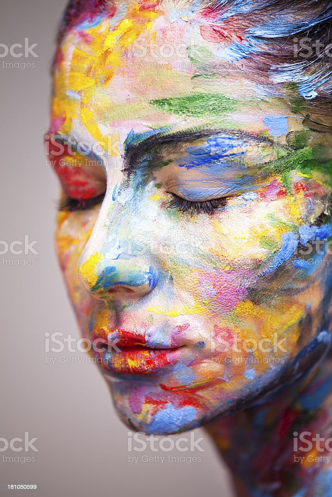 Colorful and beautiful royalty-free stock photo