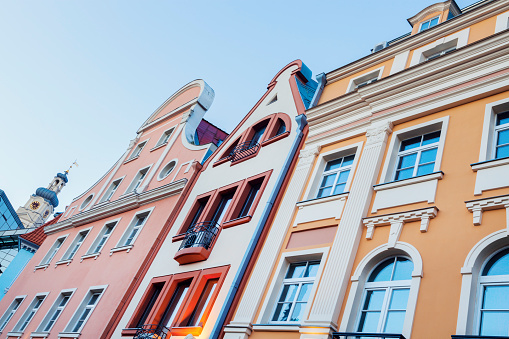 Colorful architecture of Riga old town