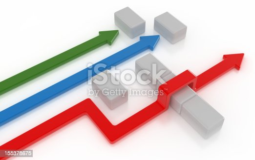 istock Colorful Arrow 155378675