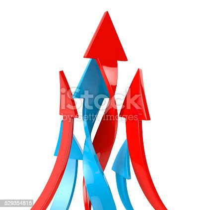 istock Colorful Arrows. 529354815