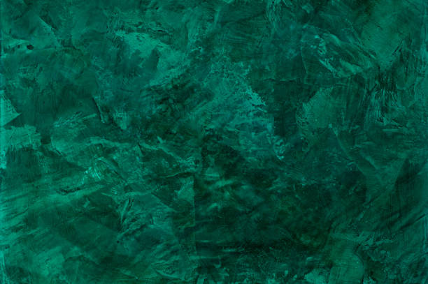 colorful artistic background background of stucco textures with effect of marble malachite color. artistic background handmade malachite stock pictures, royalty-free photos & images