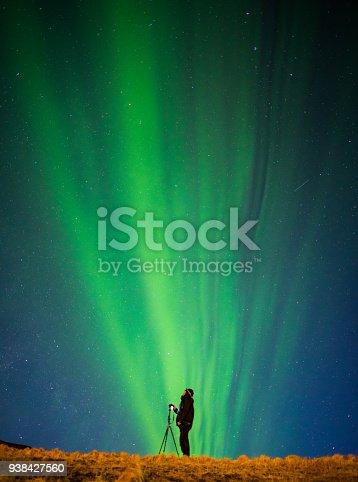 istock Colorful Aurora Borealis, Iceland 938427560
