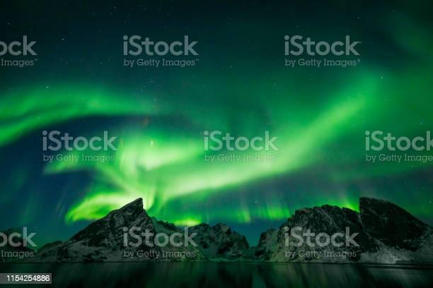Photo of Colorful Aurora Borealis