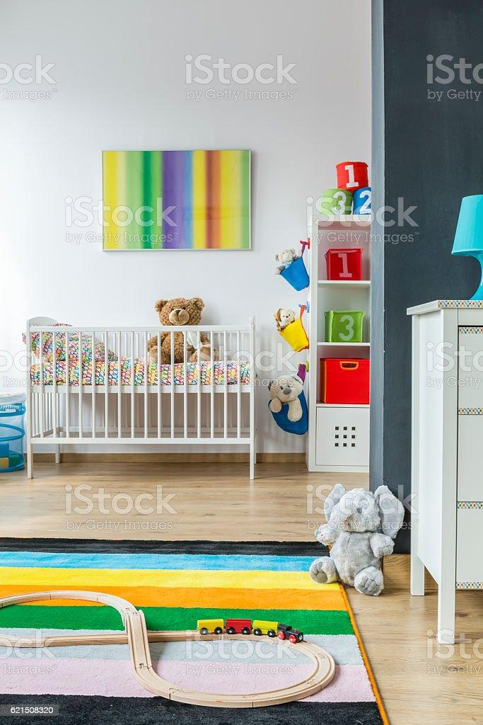 Colorful baby room Lizenzfreies stock-foto
