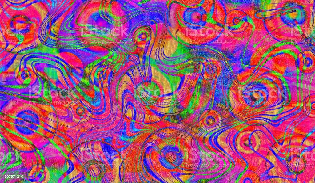 Farbigen Hintergrund Abstrakt Spaß Party Coole Hintergrund Stockfoto