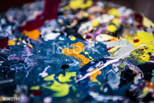 638820556istockphoto Colorful background - Background consisting of paint stains. 903817754