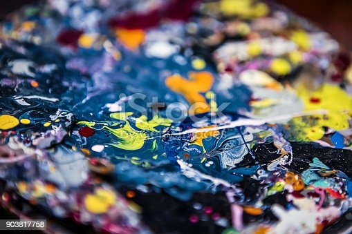 638820556istockphoto Colorful background - Background consisting of paint stains. 903817758