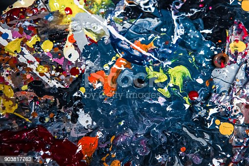 638820556istockphoto Colorful background - Background consisting of paint stains. 903817762