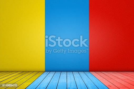 istock Colorful background domestic room 514989470