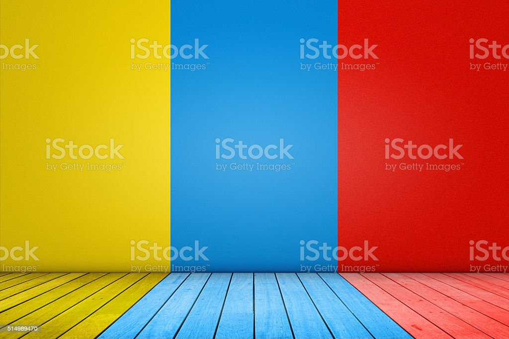 Colorful background domestic room stock photo
