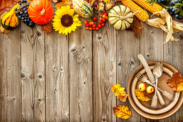 Cornucopia With Pumpkins And Fall Sunflower Pictures Images Stock Photos