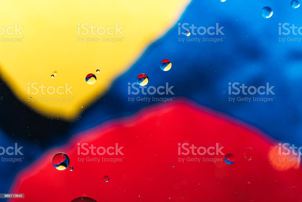colorful background from water drops royalty-free stock photo