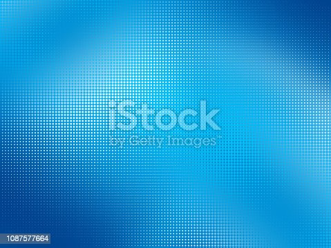 istock Colorful Background With Halftone Effect 1087577664