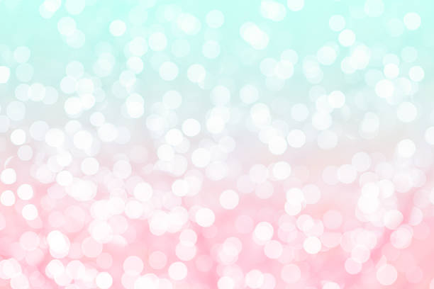 Bunten Hintergrund mit bokeh natürlichen Texturen – Foto