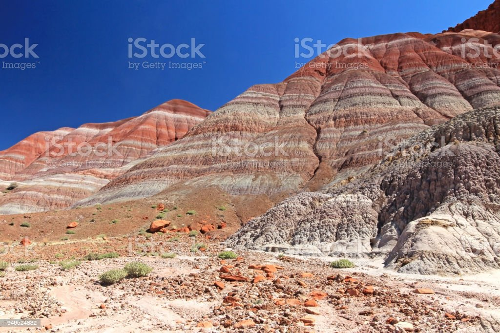 Colorful Badland Hills In Old Paria Grand Staircase Escalante