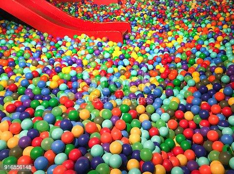 544818734 istock photo colorful ball bath 916856148