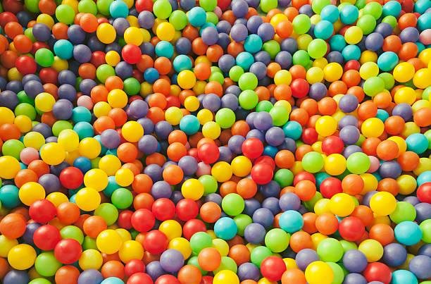 Colorful Ball pool stock photo