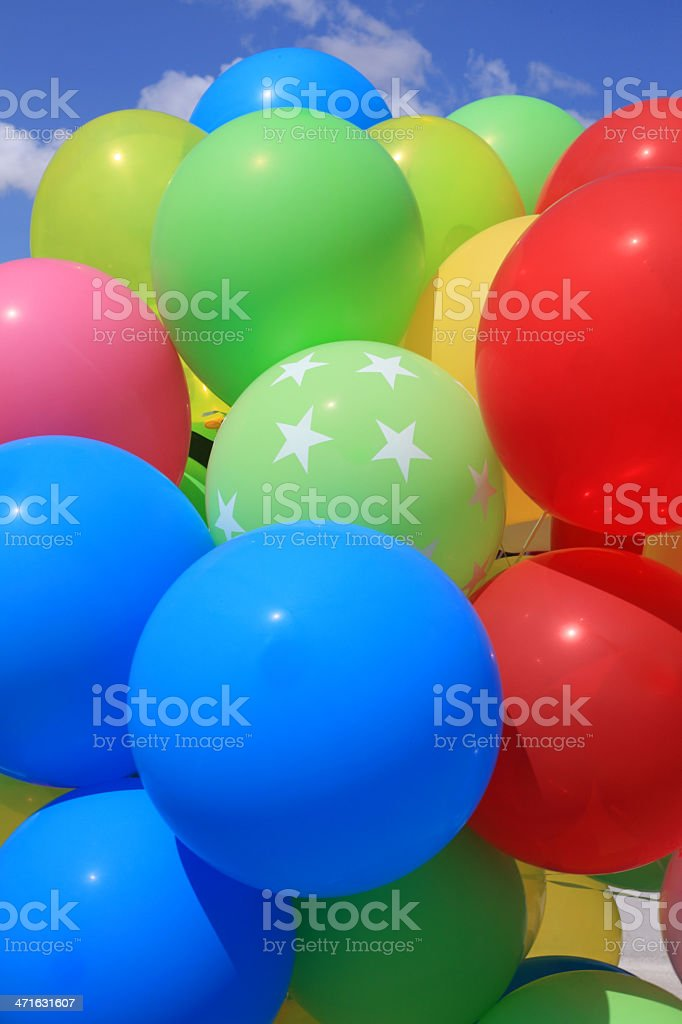 colorful Ballons royalty-free stock photo