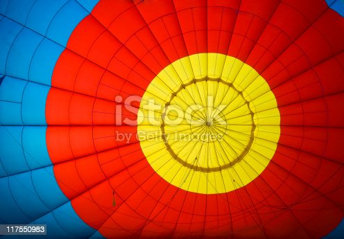 istock Colorful balloon pattern 117550983