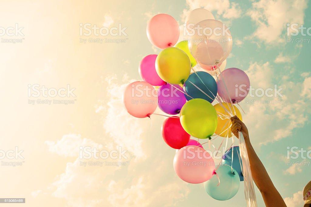 Colorful balloon