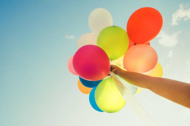 Bunte Luftballons – Foto