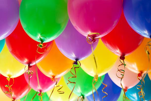 Bunte Ballons – Foto