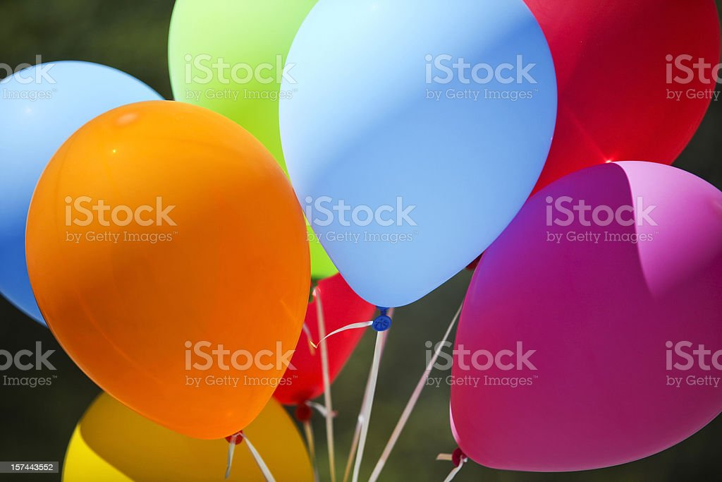 Colorful Balloons royalty-free stock photo