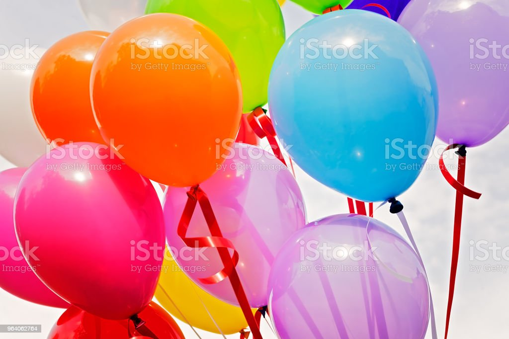 Colorful balloons - Royalty-free Abstract Stock Photo
