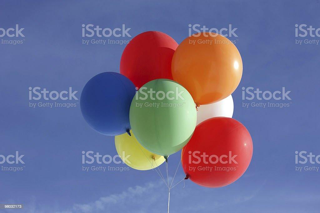 색상화 풍선 royalty-free 스톡 사진