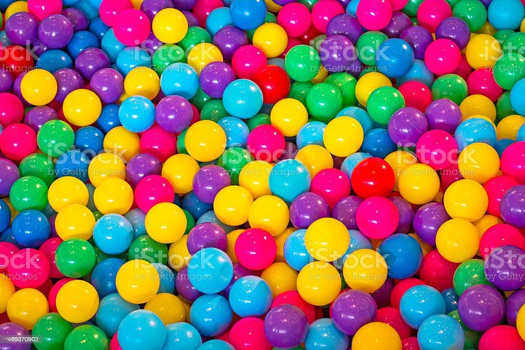 Colorful balls stock photo