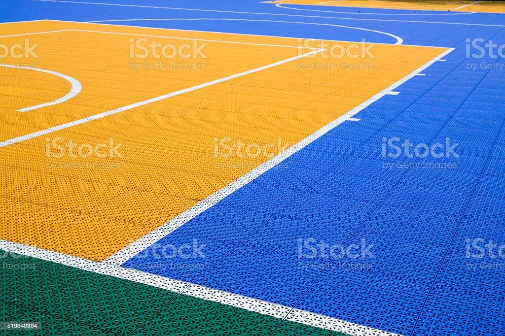 Bunte Basketball Gericht – Foto
