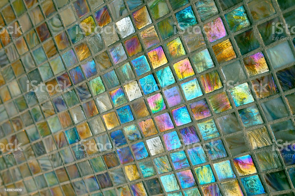 Colorful bath tiles background royalty-free stock photo
