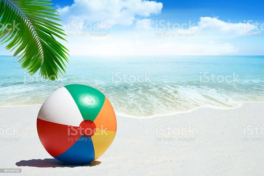 Colorful Beach ball foto