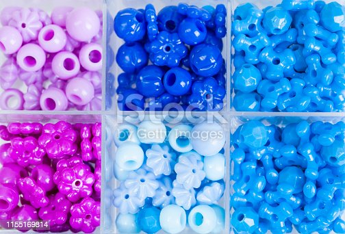 colorful plastic beads for making personal accessories, dyi projects with children
