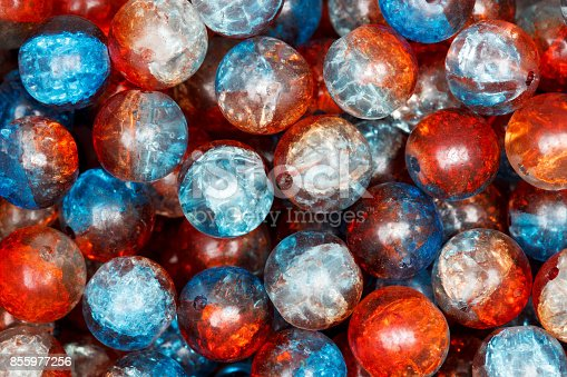 istock Colorful beads. Hi res photo 855977256