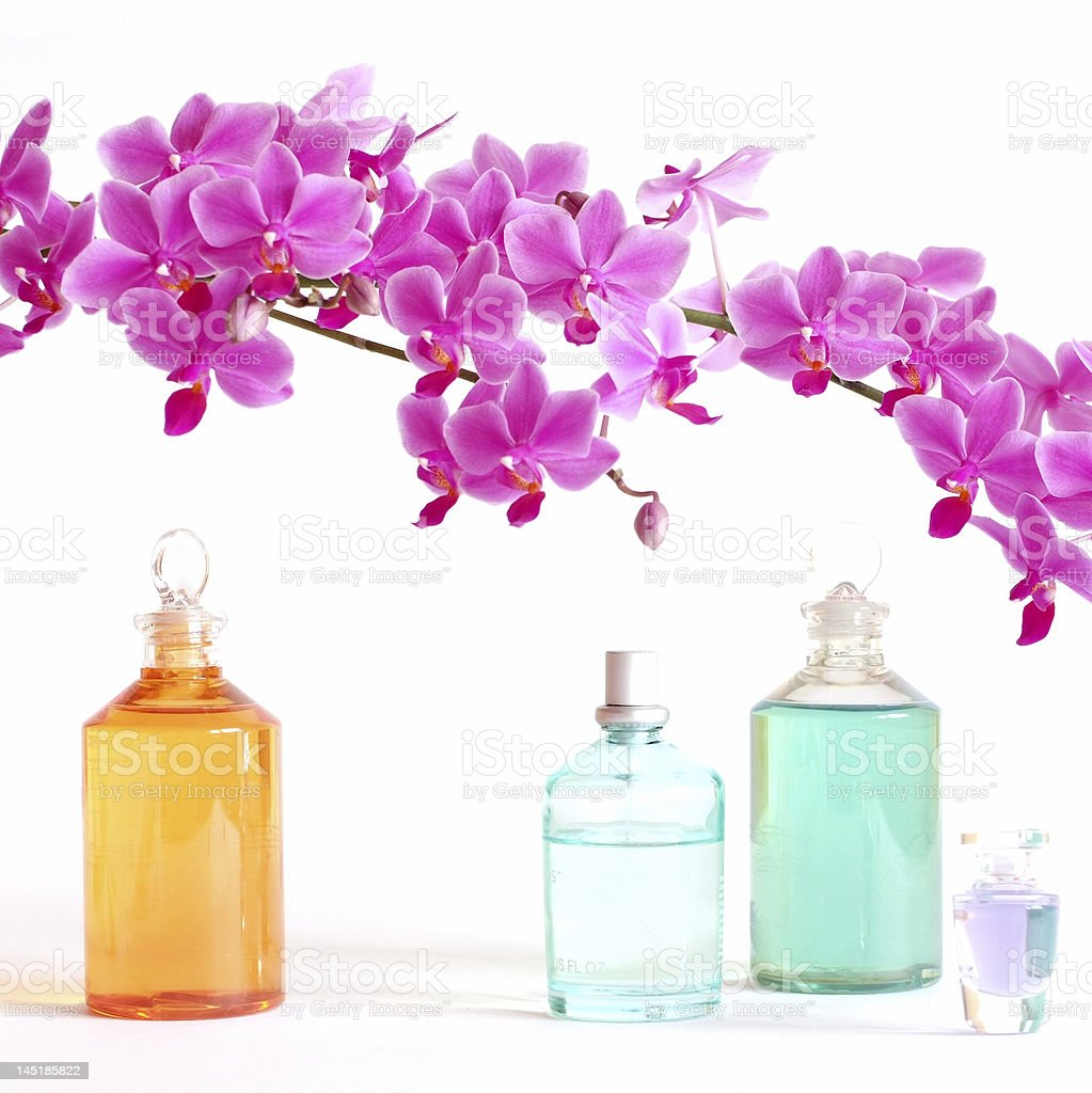 Colorful beauty set stock photo