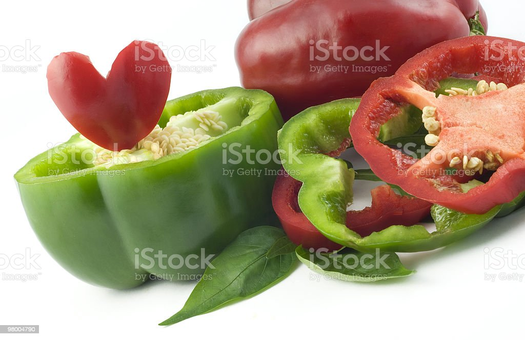 Colorful Bell Peppers royalty free stockfoto