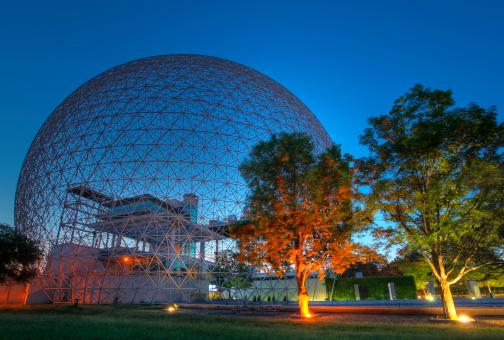 istock Colorful Biosphere at Sunrise 182799495