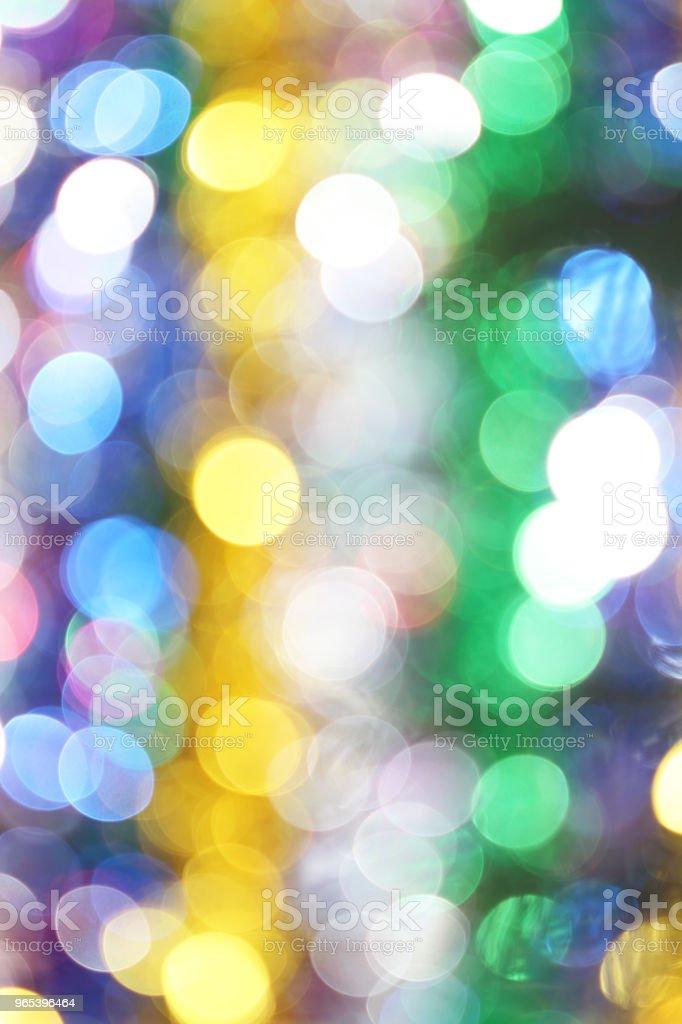 彩色模糊燈光散景背景, 聖誕燈散景背景 - 免版稅亮粉圖庫照片